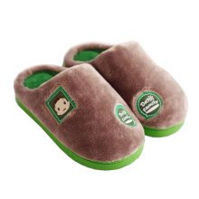 Family Winter Warm & Cozy  Indoor Shoes Child House Slipper, Gray