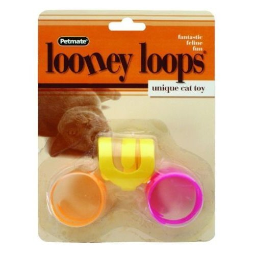 Petmate Fat Cat Looney Loops Cat Toy
