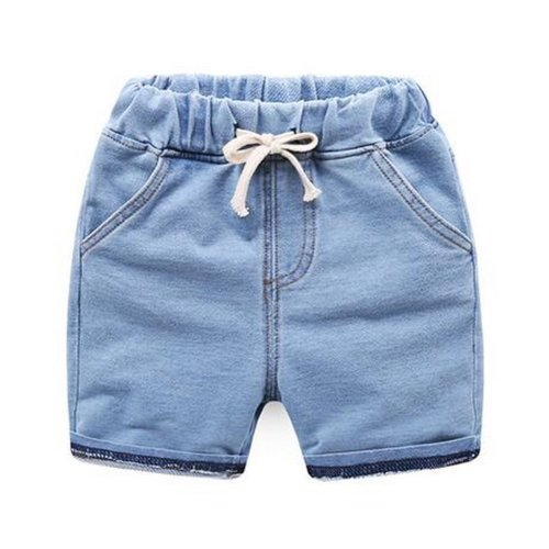 Baby Boy Short Pants Cute Short Pants for Summer Suitable for 130cm [G]
