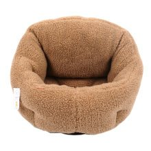 Skin Soft and Warm Pet House Dog Cat Pet Bed Puppy sofa, Fleece 43*35*30CM