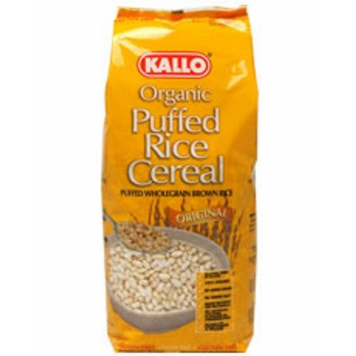 Kallo Organic Natural Puffed Rice Cereal 225g