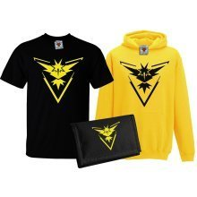 Reality Glitch's Kid's Team Instinct T-Shirt, Hoodie & Wallet Set