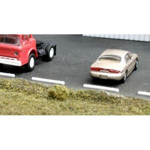 Blma Models HO Concrete Car Stops (20) BLM4108