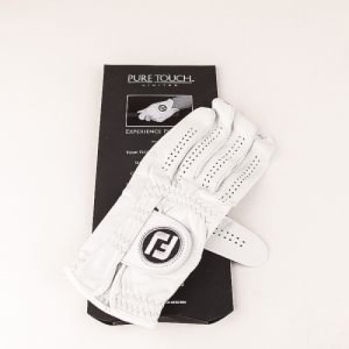 FootJoy Pure Touch - Golf Gloves for Left Hand Color: White Size: L