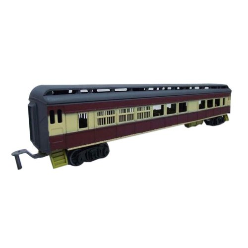 2 Pieces Simulation Railway Carriages Toy/Train Car Toy, N(28*4*6CM)
