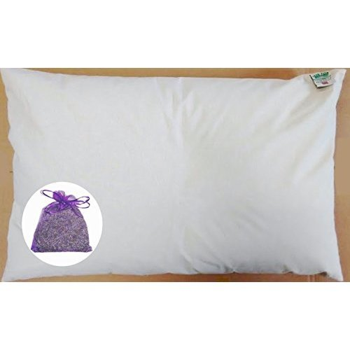 Lavender Bag and Organic Buckwheat Pillow