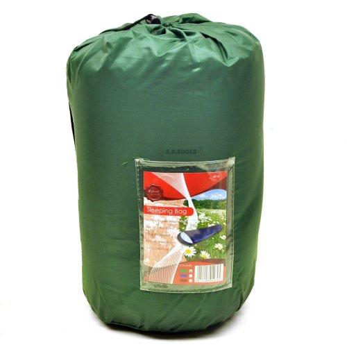 Adult 3 Season Mummy Sleeping Bag Camping Summer Festival Green CMP17