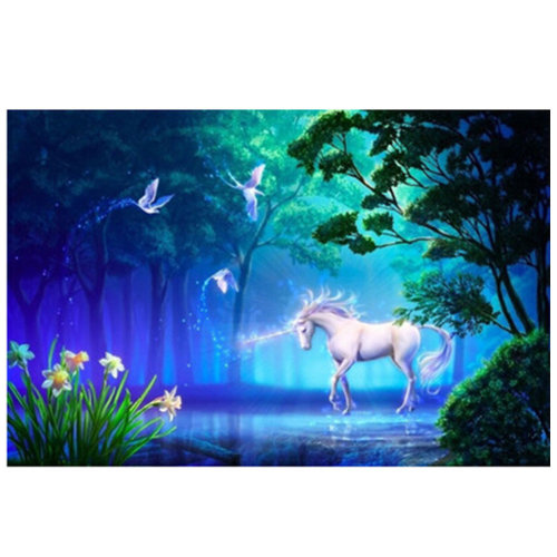 Fashionable Wooden Puzzle For Adult 1000 Piece Jigsaw Puzzle, Unicorn