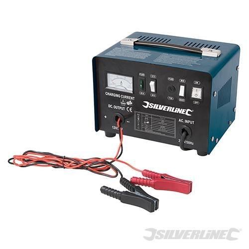 Silverline Battery Charger 12/24v 100 - 240ah Batteries - 1224v 178555 20 12v -  charger battery silverline 1224v 178555 240ah batteries 20 12v 18a12a
