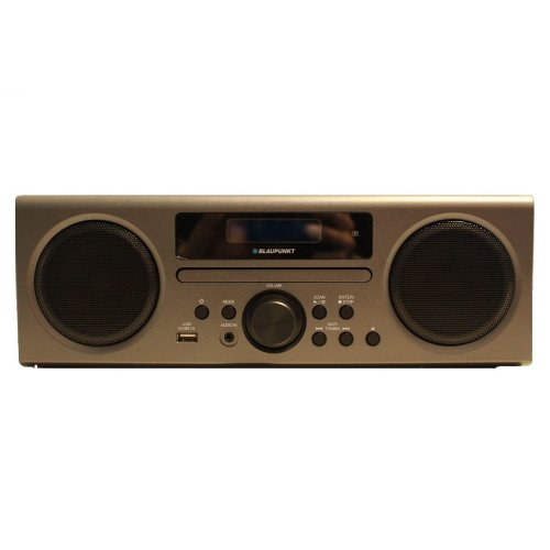 Blaupunkt NE-8250 DAB Radio Stereo System Built In Bluetooth CD Player Black