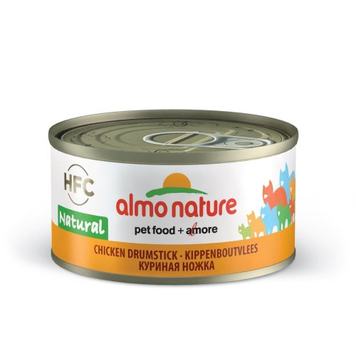 Almo Nature Hfc Natural Cat Adult Chicken Drumstick 70g (Pack of 24)
