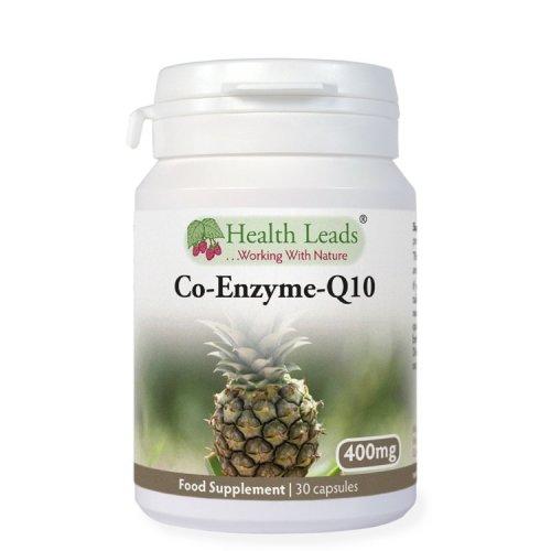 High Strength Coenzyme Q10 400mg x 30 capsules