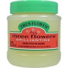 CLUBMAN THREE FLOWERS TRES FLORES Solid Brilliantine Hair Pomade 2 x BB11605