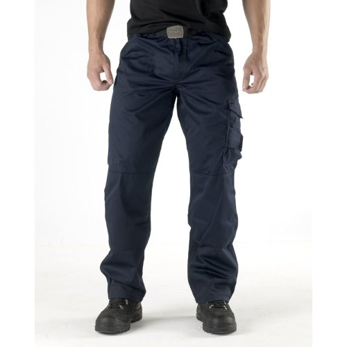 Scruffs Worker Trousers Navy Men's