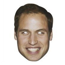 Prince William Celebrity Face Mask