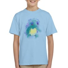 Water Watercolour Squirtle Pokemon Kid's T-Shirt
