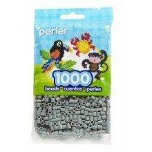 Prl19017 - Perler Beads - 1000 Pc Pack - Grey