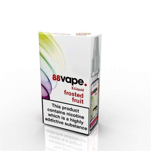 88 Vape E-Liquid Nicotine 16mg Frosted Fruits 10ML