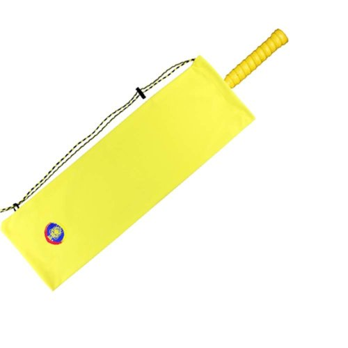 Flannelette Badminton Racket Bag,Yellow