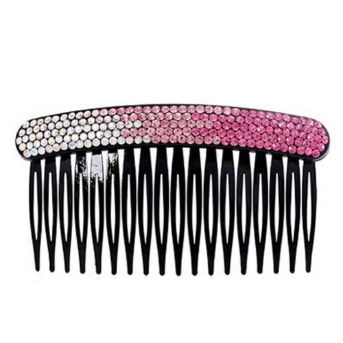 Elegant Luxury Diamond Hair Clip Hairpin Hair Barrette,Gradient Pink