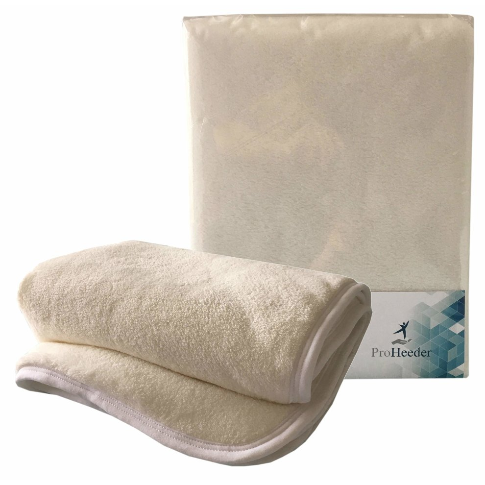Mattress Topper Protector for Travel Cot in Cozy Fleece for Extra Comfort