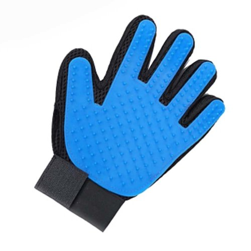Pet Hair Remover Glove Pet Grooming Brush Left
