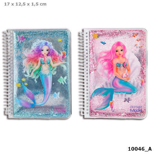 Depesche Fantasy Model Mermaid Notebook - One Only