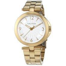 Nautica NAD14001L Women's Watch Gold