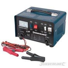 Silverline Battery Charger 12/24v 25 - 135ah Batteries - 268317 1224v 10a Ah -  charger battery silverline 268317 batteries 1224v 10a ah