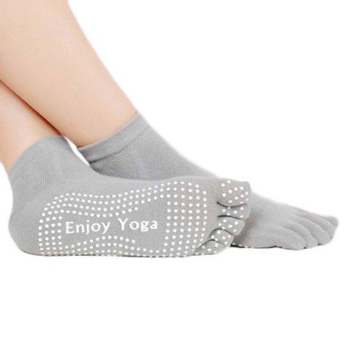 Five-finger Cotton Sports Socks Soft Non-slip New Design Yoga Socks #9