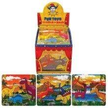 108 Mini Dinosaur Jigsaw Puzzles (25 Pieces)