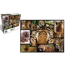 Tiger 1000 Piece Puzzle - WWF