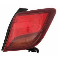 Toyota Yaris 2014-2016 Rear Tail Light Drivers Side Right O/s
