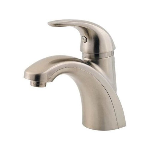 Price Pfister LF042PRKK Parisa Single Handle Lavatory Faucet  Brushed Nickel - 4 in.