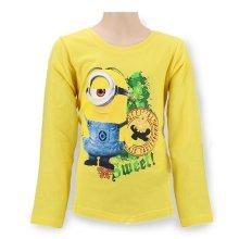 Minions T Shirt - Long Seeve - Lemon