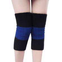 Warmer Knee Brace Sleeve for Sports, Yoga, Dance, Arthritis, Joint Pain, Blue L