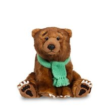 Aurora World 60718 8-inch We're Going On A Bear Hunt Plush Toy - Were 8inch Soft -  bear going hunt were toy plush aurora 60718 8inch world soft