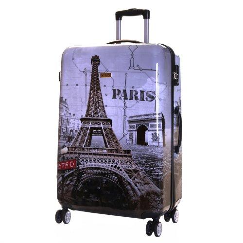 ea0941b85 Karabar Falla Large 76 cm Hard Suitcase, Paris on OnBuy