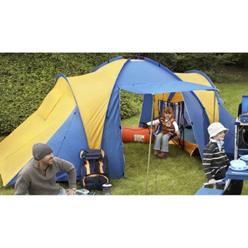4 Person / Four Man / Berth Family Tent with TWO Rooms